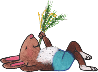 illustration-rabbit-laying-down