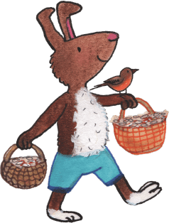 illustration-rabbit-with-baskets