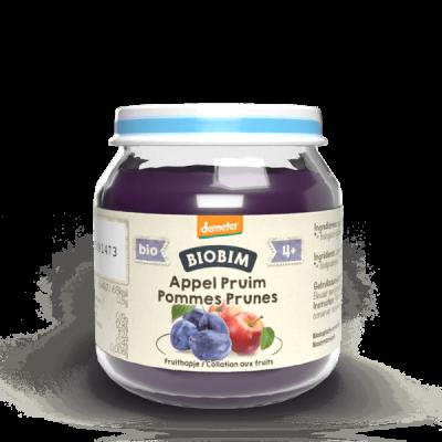 Collation aux fruits pour bébés biologique Pomme-Prune