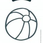 Biobim kleurplaat bal