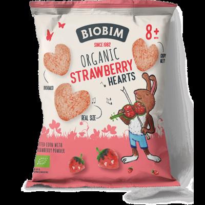 Biobim Biologische Baby Tussendoortjes - Strawberry Puffs