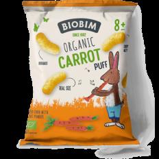Biobim Biologische Baby Tussendoortjes - Carrot Puffs