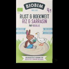 Bouillie pour bébés biologique riz et sarrasin