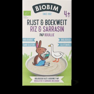Biobim Biologische Babypap - Rijst & Boekweit